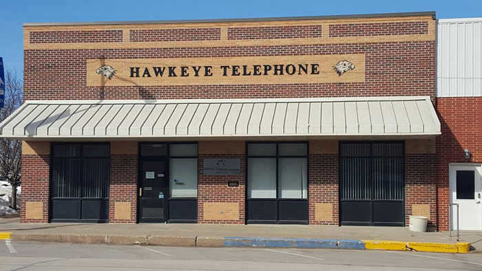 Hawkeye Telephone Company office